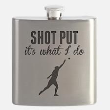 Shot Put Its What I Do Flask
