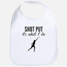 Shot Put Its What I Do Bib