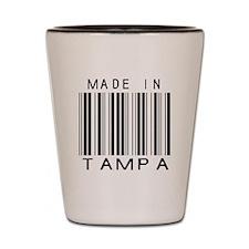 Tampa Barcode Shot Glass