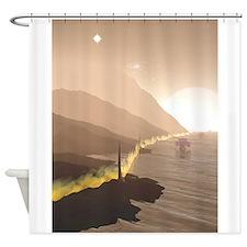Firewall Shower Curtain