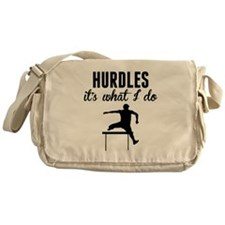 Hurdles Its What I Do Messenger Bag