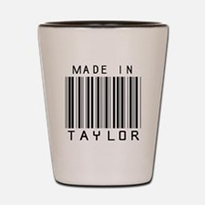 Taylor Barcode Shot Glass