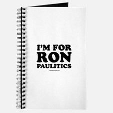 I'm for Ron Paulitics Journal