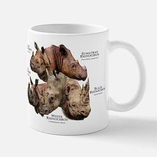 Rhinos of the World Mug