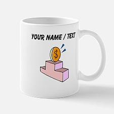 Money On Podium (Custom) Mugs