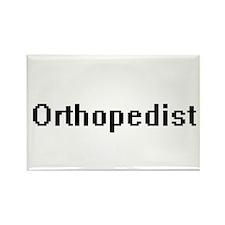 Orthopedist Retro Digital Job Design Magnets