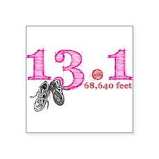 """Cute 13.1 Square Sticker 3"""" x 3"""""""
