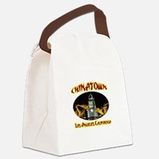 Los Angeles Chinatown Canvas Lunch Bag