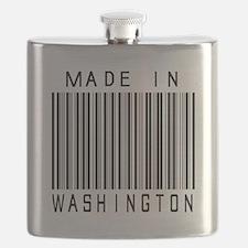 Washington Barcode Flask