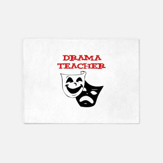 Drama Teacher 5'x7'Area Rug