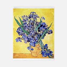 Van Gogh Iris Vase Twin Duvet