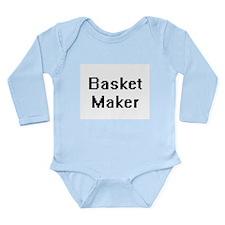 Basket Maker Retro Digital Job Design Body Suit