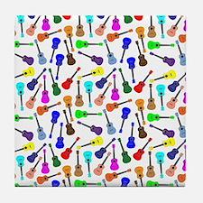 Ukuleles Tile Coaster