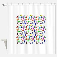 Ukuleles Shower Curtain