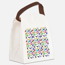 Ukuleles Canvas Lunch Bag