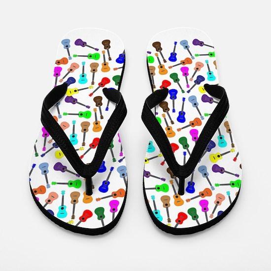 Ukuleles Flip Flops