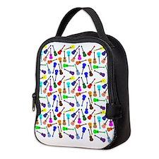 Ukuleles Neoprene Lunch Bag