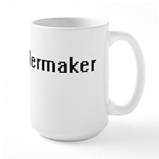 Boilermaker Retro Digital Job Design Mugs
