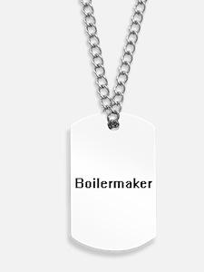 Boilermaker Retro Digital Job Design Dog Tags