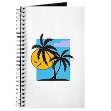 PALM TREE SCENE Journal