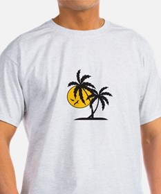 PALMS AND SUN T-Shirt