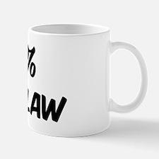 100 Percent Son In Law Mug