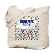 Purple Ukulele Tote Bag