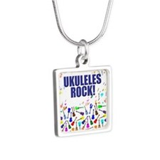 Purple Ukulele Necklaces