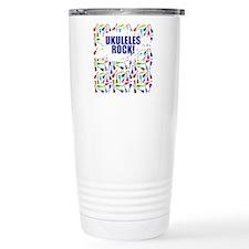 Purple Ukulele Travel Mug