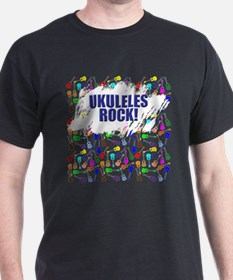 Purple Ukulele T-Shirt