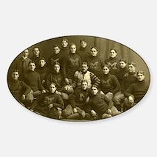 1899 Michigan Wolverine Decal