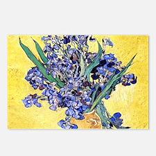 Van Gogh Iris Vase Postcards (Package of 8)