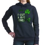 I Cut A Big One Women's Hooded Sweatshirt