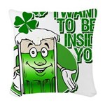 inside you.png Woven Throw Pillow