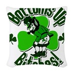 bottomupb.png Woven Throw Pillow
