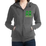 One Of These Things 3d Lined.png Women's Zip Hoodi