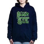 notirishgreen.png Women's Hooded Sweatshirt