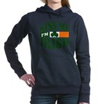 Kiss Me Im Irish.png Women's Hooded Sweatshirt