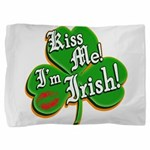 KissMeImIrish6.png Pillow Sham