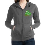 KissMeImIrish6.png Women's Zip Hoodie