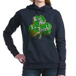 KissMeImIrish6.png Women's Hooded Sweatshirt