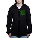 clover2.png Women's Zip Hoodie