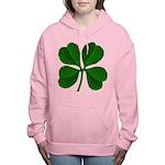 clover2.png Women's Hooded Sweatshirt