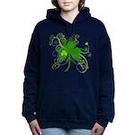 St Paddys Day Fancy Sham Women's Hooded Sweatshirt
