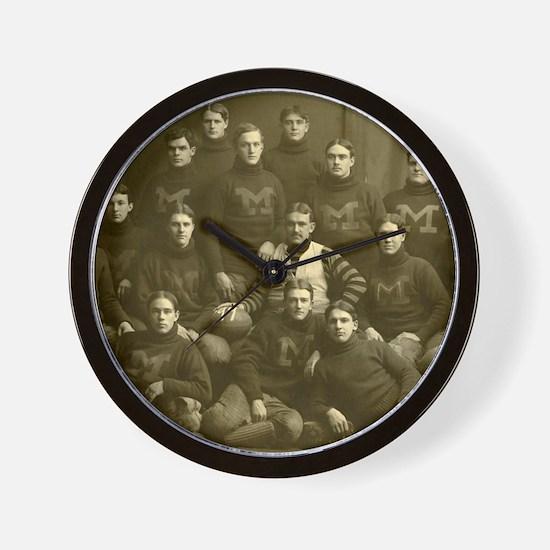 1899 Michigan Wolverines Wall Clock
