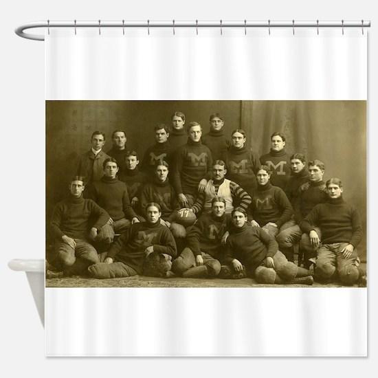 1899 Michigan Wolverines Shower Curtain