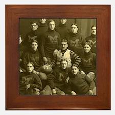 1899 Michigan Wolverines Framed Tile