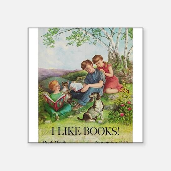 1962 Children's Book Week Sticker