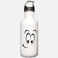 Smiley Face Smiling Water Bottle