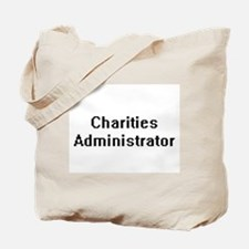 Charities Administrator Retro Digital Job Tote Bag